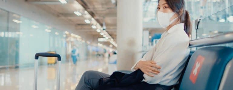 Cancelamento de voo na pandemia
